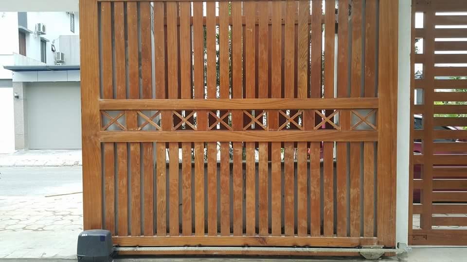 Mô tơ cổng 1